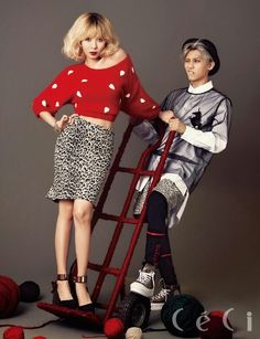 Trouble Maker HyunA and Hyunseung // CeCi Magazine Come visit kpopcity.net for the largest discount fashion store in the world!!