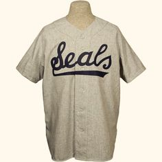 San Francisco Seals 1957 Road Jersey  PACIFIC COAST LEAGUE