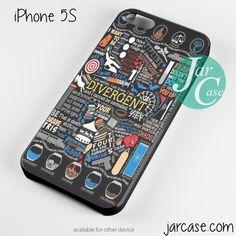 divergent art Phone case for iPhone 4/4s/5/5c/5s/6/6 plus