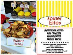 Tattered and Inked: Superhero Food Ideas & Free Printables!