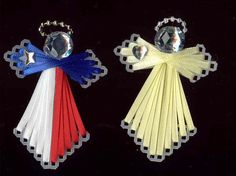 Plastic Canvas Angels.. Use for pins, ornaments, refrigerator magnets, etc., etc..