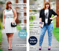 Check out the Jennifer Pistor's outfits from the Province's $100 style challenge. #style #fashion #jenniferpistor #fashionblogger #stylechallenge