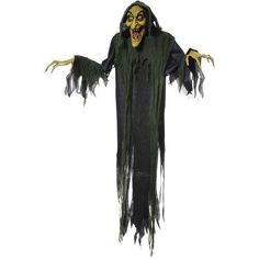 2018 Hanging Witch 72 Inches Animated Halloween Prop Haunted House Yard Scary Decor by Mario Chiodo and more Halloween Decorations, Halloween Witch Decorations for Outdoor Halloween, Scary Halloween, Vintage Halloween, Halloween Costumes, Halloween Ideas, Halloween Stuff, Halloween Crafts, Happy Halloween, Halloween 2016