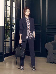 More Of Ha Ji Won For Crocodile Ladies' Fall 2015 Ad Campaign