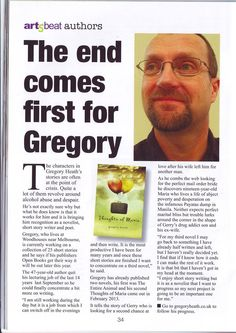 Gregory Heath is featured in the February edition of Artsbeat Magazine!  Learn more about Gregory's novel Thoughts of Maria at http://www.open-bks.com/library/moderns/thoughts-of-maria/about-the-book.html