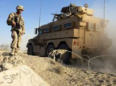 This Vehicle Can Drive Through A Major IED Blast With No Casualties