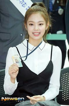 Jennie BLACKPINK Incheon Main Customs Ceremony event 170501