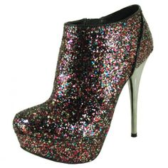 glitter bootie-ITS SO GLITTERY!!