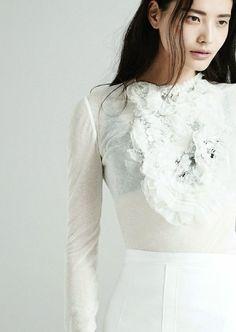 Li Wei by Pamela Hanson for Glamour UK March 2014