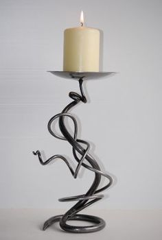 Belltrees Forge Tangle candlestick