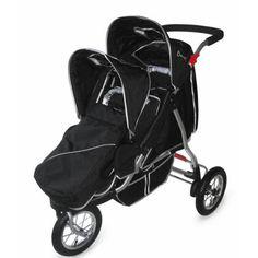 Kidz Kargo Discovera Tandem Double Jogging Stroller | Kids style ...