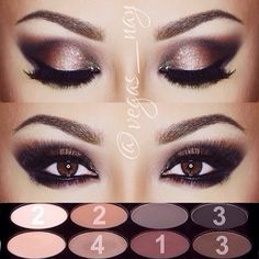 .@vegas_nay | Here's a step by step of our NEW #motivesmavens Element eyeshadow Palette; MotivesbyShauna.com