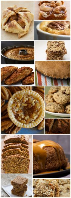 Baking A round up of fourteen delectable recipes perfect for fall baking.A round up of fourteen delectable recipes perfect for fall baking. Fall Desserts, Just Desserts, Delicious Desserts, Dessert Recipes, Yummy Food, Apple Recipes, Baking Recipes, Fall Recipes, Sweet Recipes