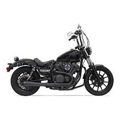 Bassani Road Rage 2-Into-1 Exhaust System For Yamaha Bolt 2014-2016