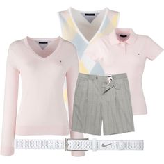 golf outfit by preppedandready on Polyvore