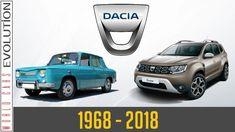 W.C.E - Dacia Evolution (1968 - 2018) Eastern Europe, Evolution, Classic Cars, History, Vehicles, 1, Youtube, Cars, Dacia Sandero