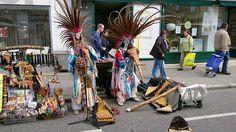 Straßenmusik in Wien (Indianer Musikanten am Simmeringer Straßenfest ) Native Americans, Musik