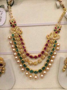 Rubies, emeralds, pearls and uncuts from https://m.facebook.com/premrajshantilaljainjewellers