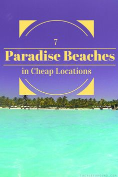 7 Paradise Beaches in Cheap Locations. Check out some of the most amazing paradise beaches in the world without breaking your bank account. Destin Beach, Beach Trip, Places To Travel, Places To See, Paradise Beaches, Aviation Quotes, Elephant Ride, Beaches In The World, Beach Holiday