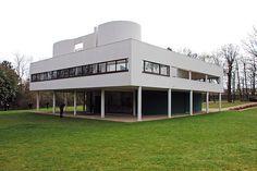Villa Savoye, Poissy - Le Corbusier (alguien que quiero mucho me nombro a este muchacho)