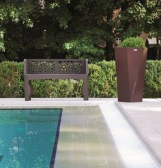CORAL is a street furniture bench, made in Italy, of collection characterized by a modern style and materials of great quality. The bench in steel suits both external and internal environments. Bench Furniture, Street Furniture, Corten Steel, Galvanized Steel, Coral, Stainless Steel, Outdoor Decor, Modern, Products