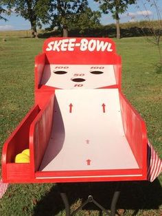 Skee Ball Style Carnival Game by NorTexEvents on Etsy