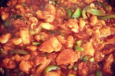INDICKÉ CHILLI CHICKEN | Apetitonline.cz Chana Masala, Pork, Food And Drink, Chicken, Ethnic Recipes, Sweet, Vietnam, India, Asia