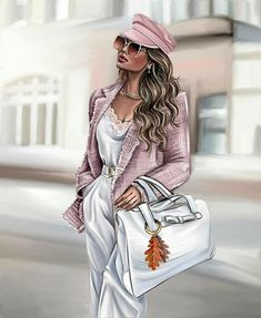 Fashion Design Portfolio, Fashion Design Drawings, Fashion Sketches, Disney Princess Fashion, Girly M, Paris Chic, Fashion Wall Art, Illustration Girl, Kpop Outfits