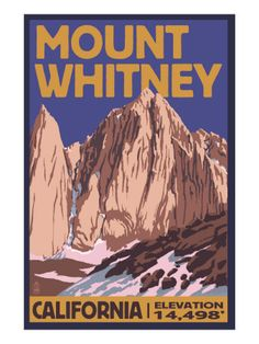 Mt. Whitney, California