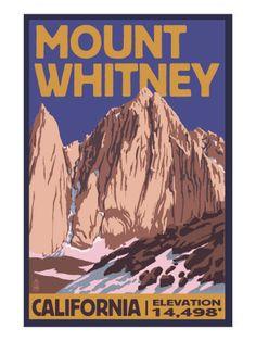 Mt. Whitney, California Peak