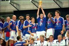 Francia Campeon del Mundo 1998