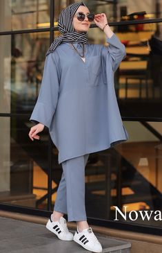 - Katharina Home Modest Fashion Hijab, Modern Hijab Fashion, Street Hijab Fashion, Casual Hijab Outfit, Hijab Fashion Inspiration, Hijab Chic, Mode Inspiration, Hijab Dress, Iranian Women Fashion