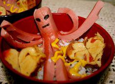 Octopus sausage