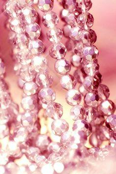 Pink Beveled Beads