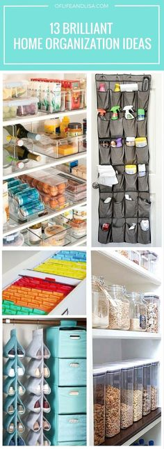Inspiring tips and ideas on ways to organize your home! Repin for later!