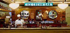 Ice Cream Bar by Pauline Roche Oil ~ 12 x 24