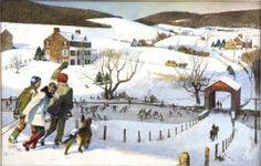 Winter Fun in Bucks County - John Philip Falter