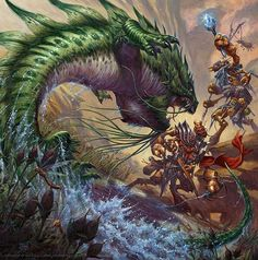 Beautiful Fantasy Illustrations by Ralph Horsley