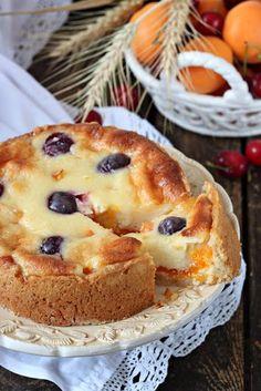 Cheese cake recipes no bake fruit 43 Ideas Cheesecake Recipes, Pie Recipes, Sweet Recipes, Snack Recipes, Dessert Recipes, Cooking Recipes, Sweet Pie, Sweet Tarts, Cheese Cake Filling