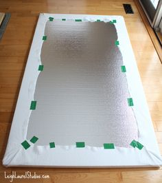 Make a decorative backboard to hang each block pn...Design wall 10 pm