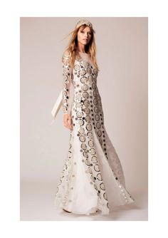We love the seventies glamour oozing from this Temperley London dress.