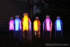 Glow in the Dark Night Time Bowling - Baby Gizmo Summer Fun For Kids, Summer Fun List, Diy For Kids, Summer Time, Fun Teen Games, Dark Summer, Neon Birthday, Neon Party