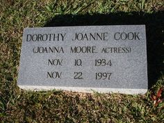 """Joanna Cook Moore - Actress. She is best remembered as the benevolent girlfriend of Sheriff Andy Taylor in the early TV episodes of """"The Andy Griffith Show."""" At the peak of her career, she married actor Ryan O'Neal in April 1963, and together they had two children, Tatum and Griffin O'Neal. They divorced in February of 1967."""