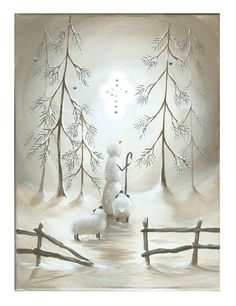 Radiance Canvas Lighted Star of Wonder with Snowman Canvas Wall Art 71373 Snowmen shepherd with sheep, battery powered lights cause the cross to light up and flicker like candle flame shelley b home and holiday