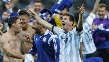 Argentina solo perdió una vez contra Portugal en siete partidos