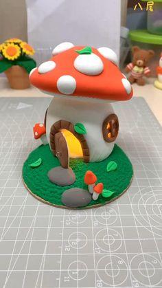 Diy Crafts Hacks, Diy Home Crafts, Fun Crafts, Paper Crafts, Polymer Clay Projects, Diy Clay, Resin Crafts, Clay Crafts For Kids, Diy For Kids