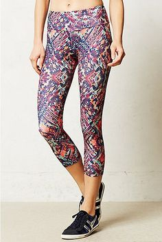 Get Fit in Anthropologie's Fun Spring Prints: Growing tired of the usual activewear options?