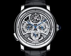 Montre Rotonde de Cartier Grande Complication © Cartier
