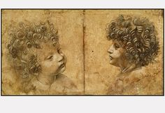 Leonardo Da Vinci - Study of a Child's head