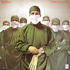 "Hipgnosis: Sleeve art for Rainbow's ""Difficult to Cure,"" 1981"